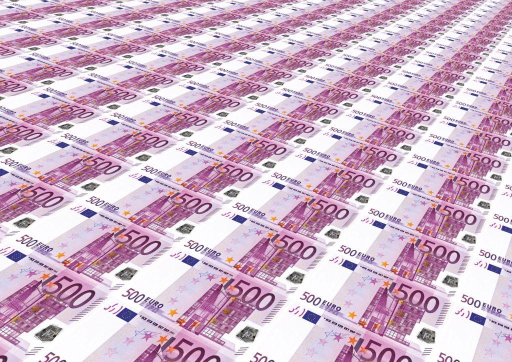 500€ Scheine.
